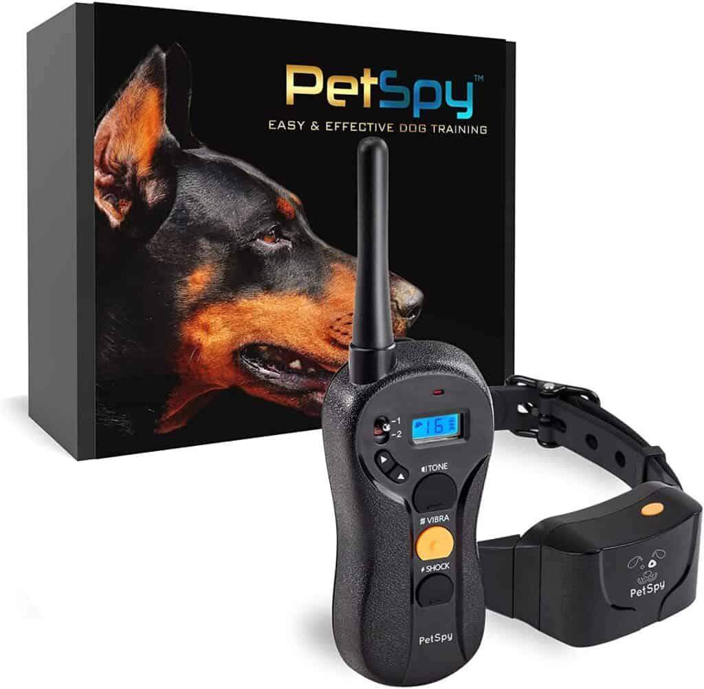 PetSpy P620 Dog Training Shock Collar