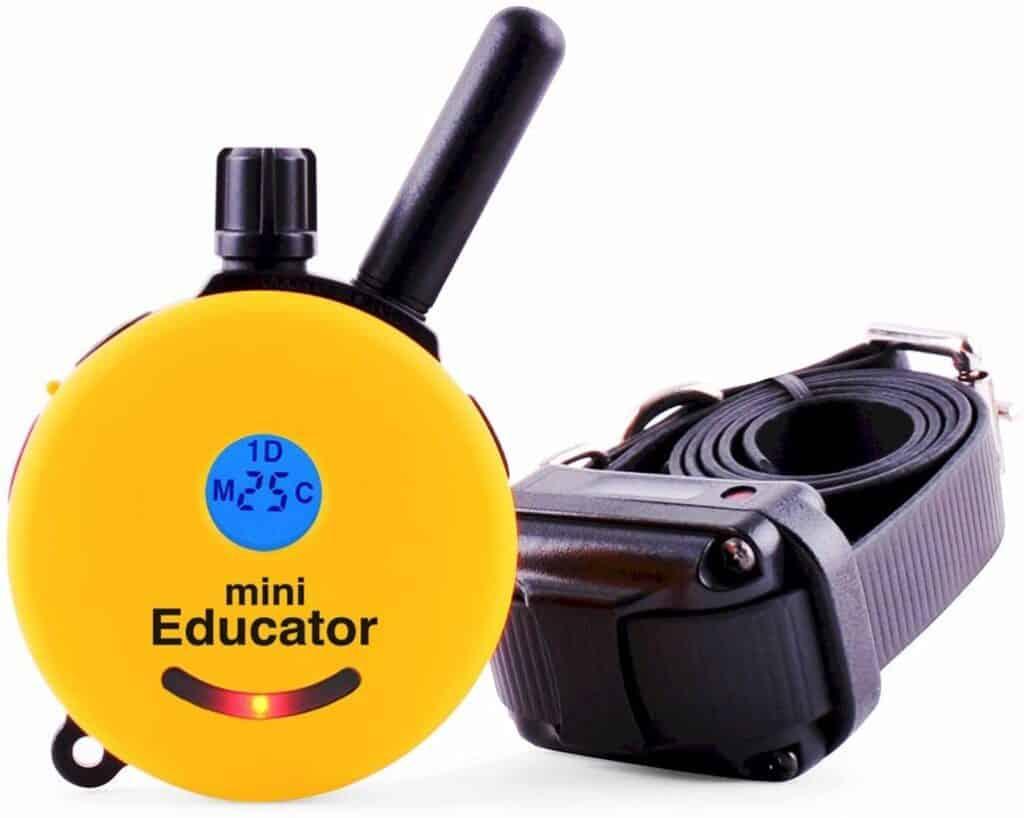 The Educator 1 Dog Mini Remote Training Collar